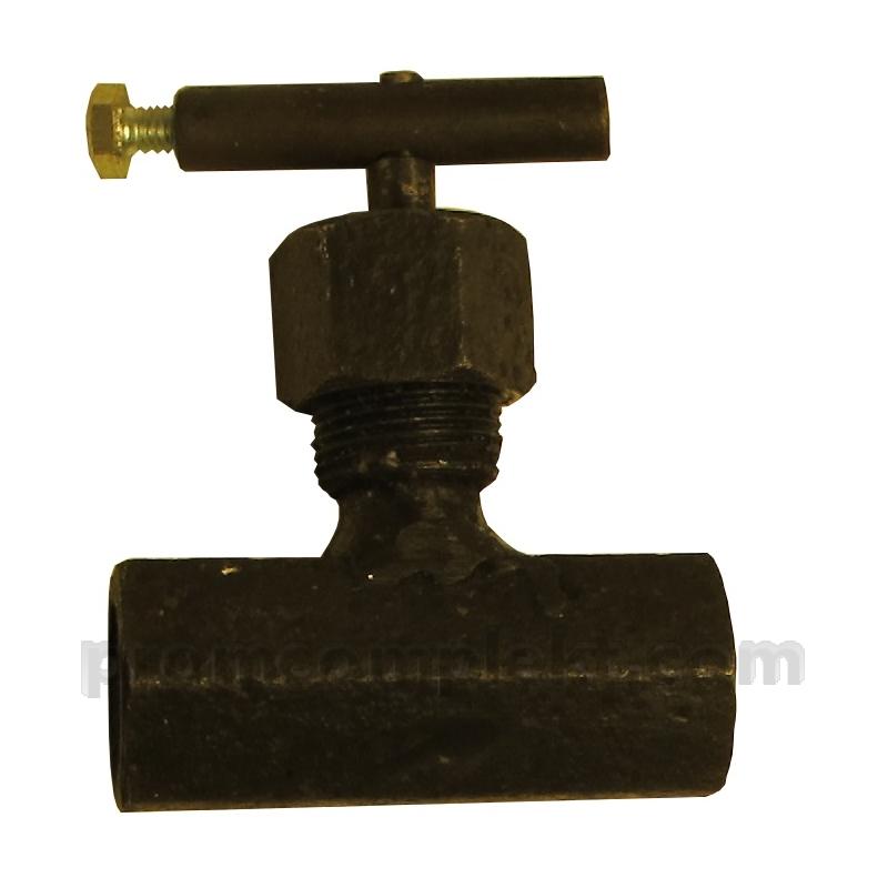 Клапан игольчатый запорный муфтовый для дифференциальных манометров